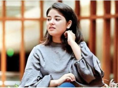 Zaira Wasim's taunt on PM Modi